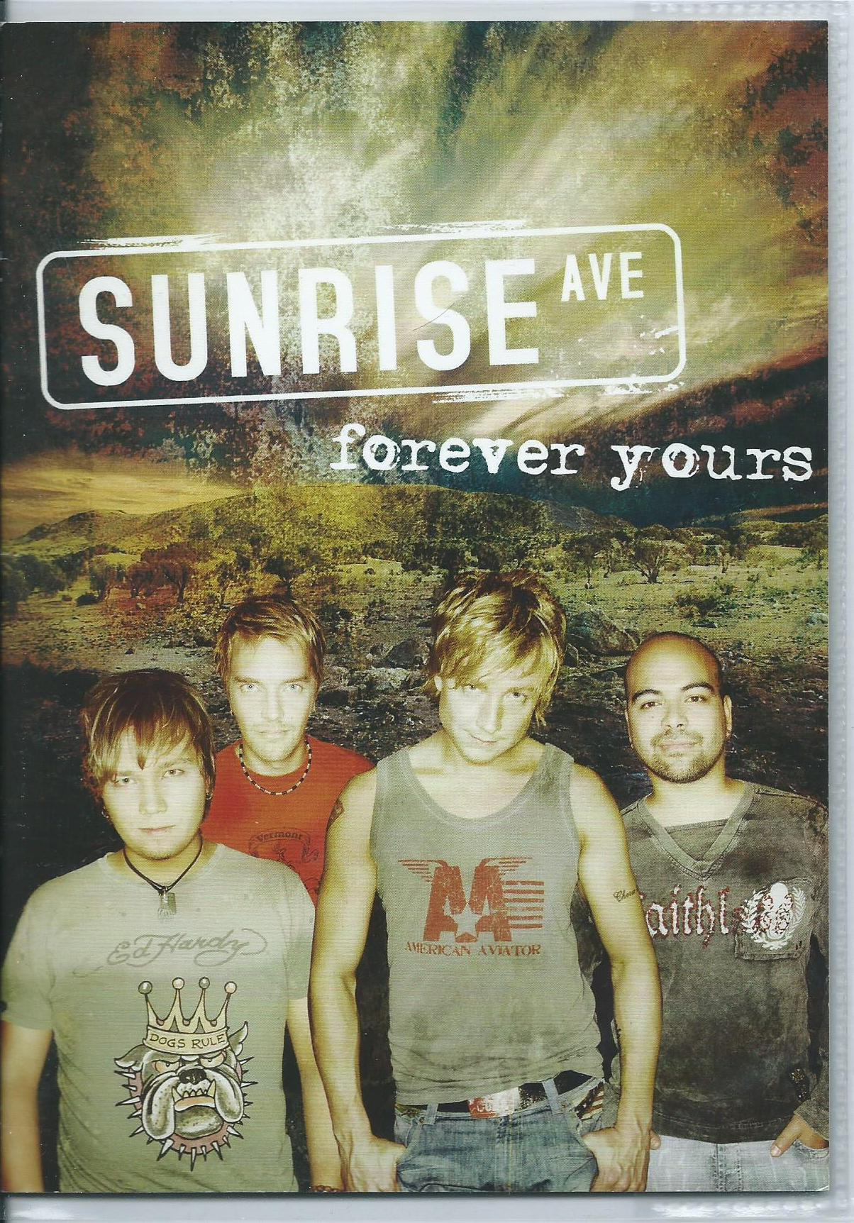 Sunrise avenue discography my collection - Sunrise avenue forever yours ...